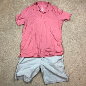 Other - Mens Polo and shorts Outfit Size 2xl and 42